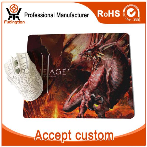 Natural Rubber Custom Design Razer Gaming Mouse Pad