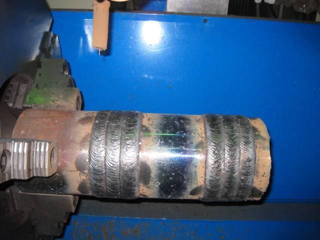 CNC hardbanding mahcine