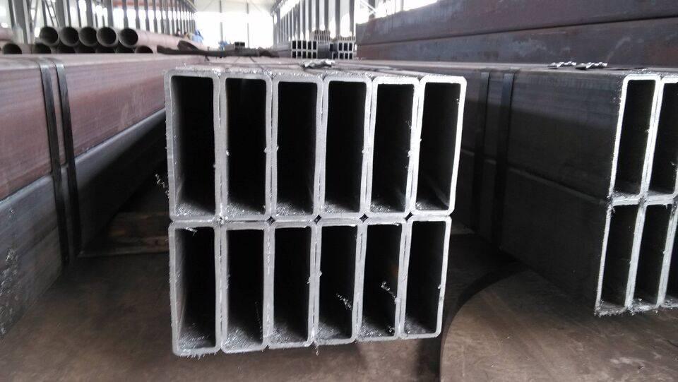 EN10210 S355 J0H pre galvanized square steel pipe