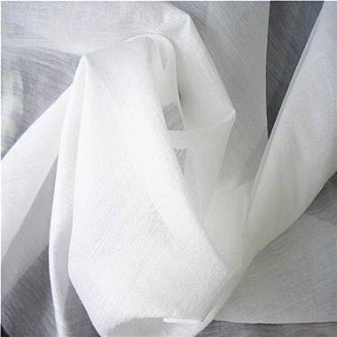 Organza fabric, made of polyester and rayon, soft,