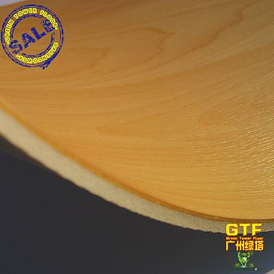 Wood Color PVC Commercial Flooring