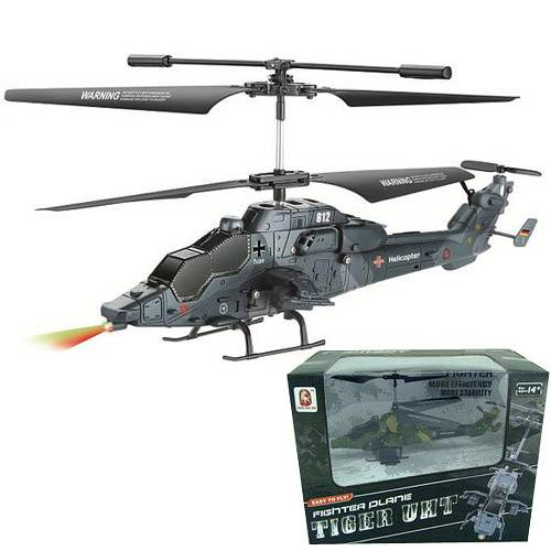 3.5ch rc army military helicopter gyro