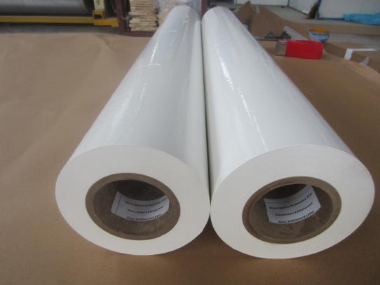 Polyethylene Woven Fabric Mirror Backing Protection Film--CATII Mirror Film meets ANSI rules