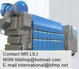 Shanghai Xinzhong Power Machine Plant CXZ MAN L27/38 surpercharger