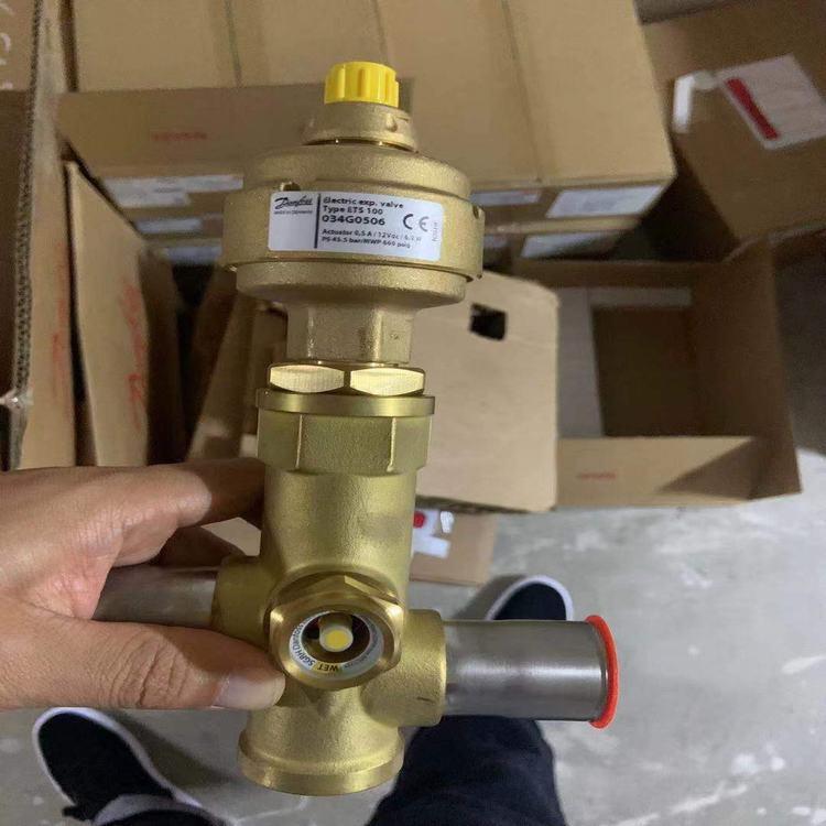 Types ETS12.5-25/ETS50-100B Danfoss Electric expansion valves