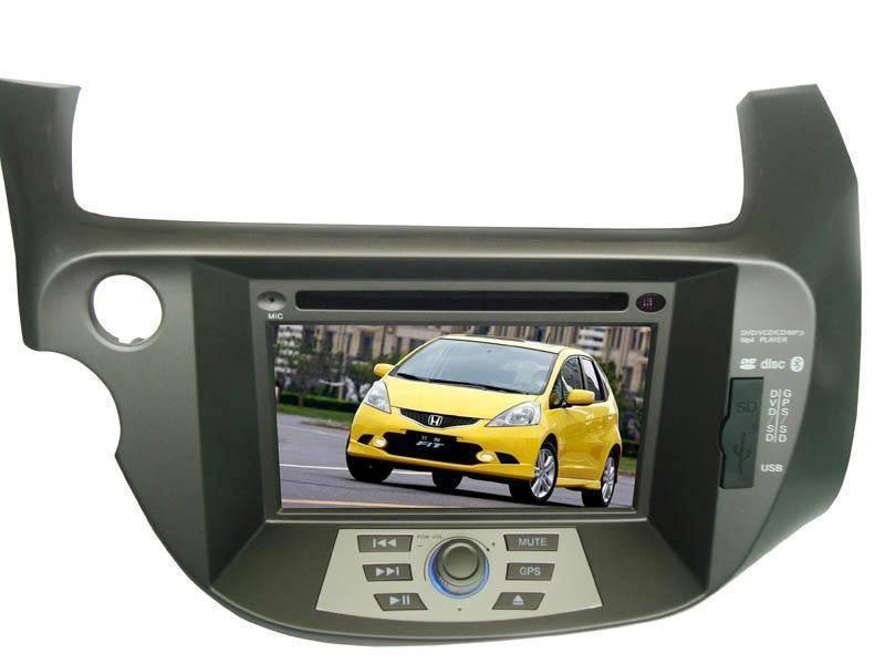 7.0 inch car GPS DVD player for Honda-Fit(Digital screen)