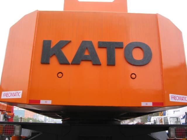 Kato120ton truck crane