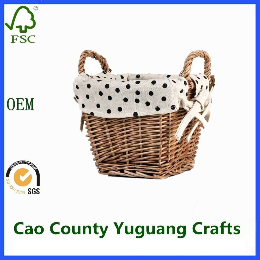 Best Selling Willow Waste Paper Baskets