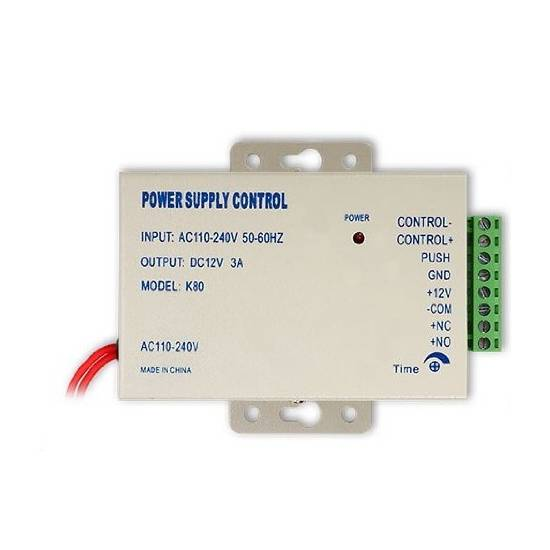 12v 3a power supply 110-240v for access control