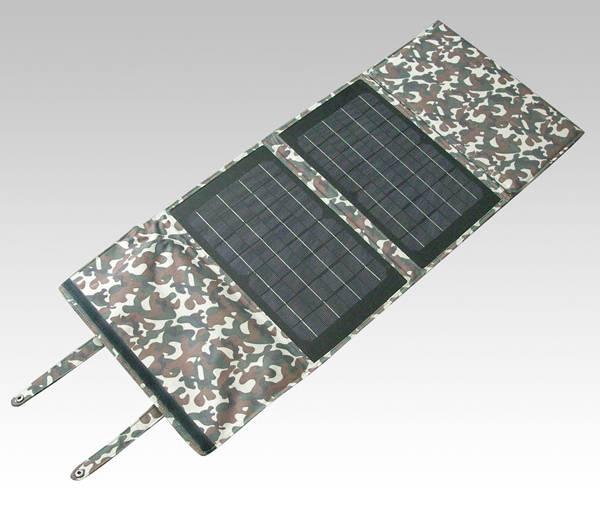 Folding solar power system