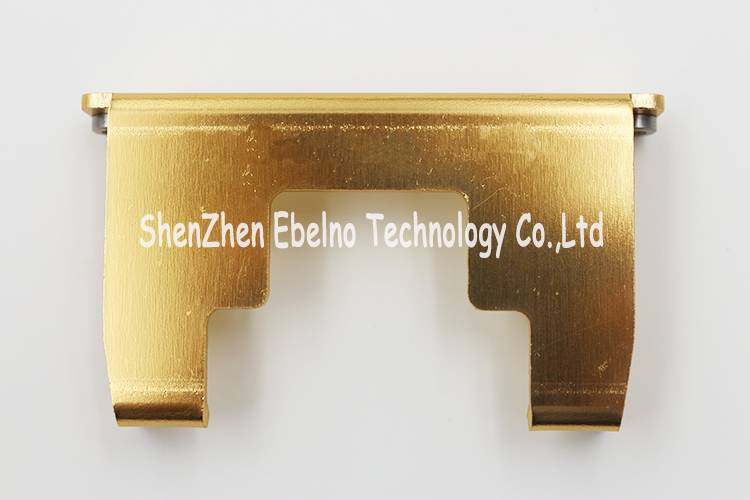 Precision Laser and Cutting Parts with Golden Anodizing
