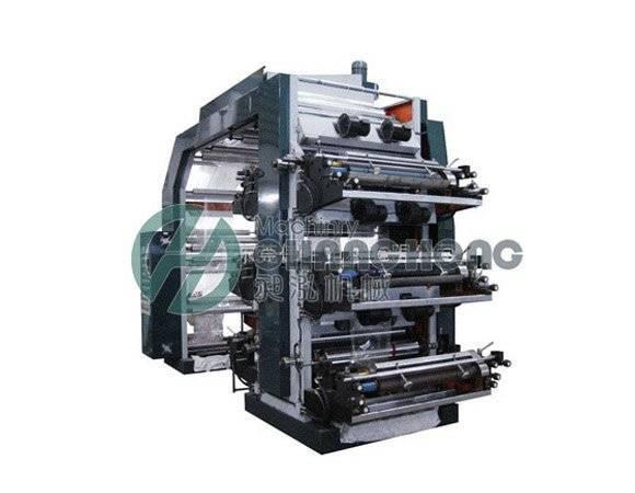 High Speed 6 Color Non-Woven Flexo Printing Machine(CH886)