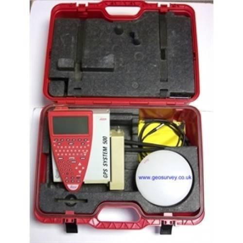 Leica GPS system 500