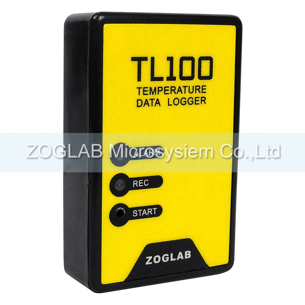 low cost data logger for temperature