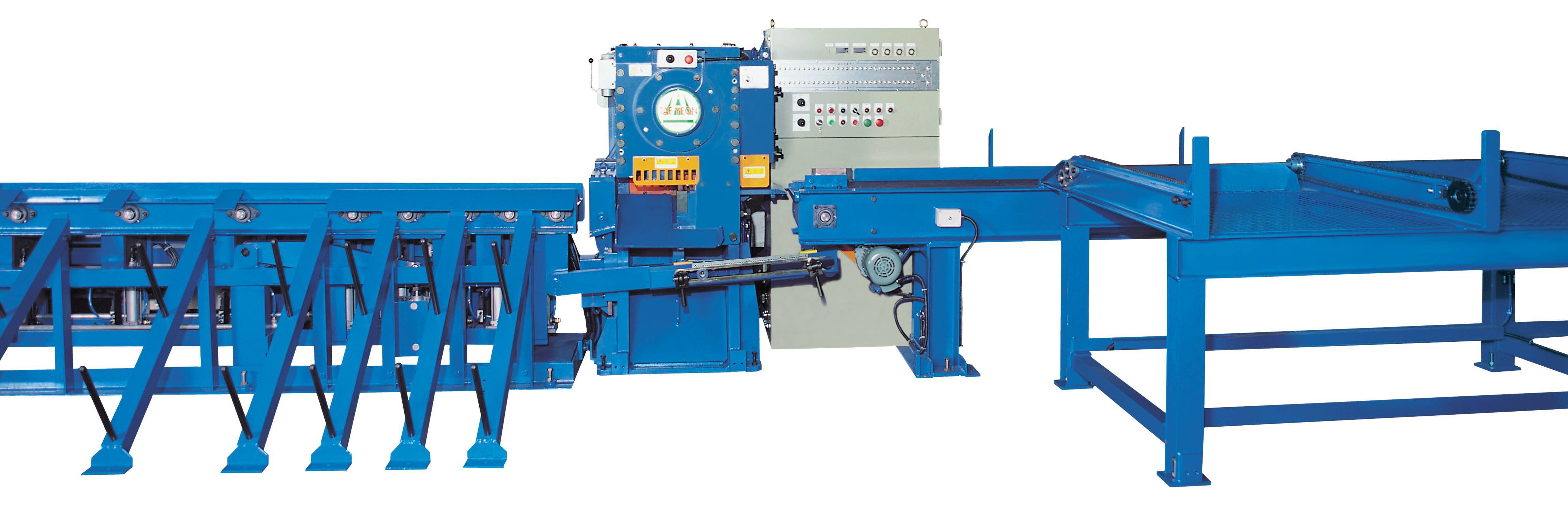Automatic Rebar Cutting Line : ( TAC-60LM )