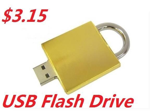 Promotional Gift Cheap Metal USB Flash Drive 1GB-64GB
