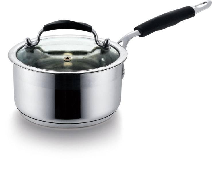 Stainless steel saucepan 169cm