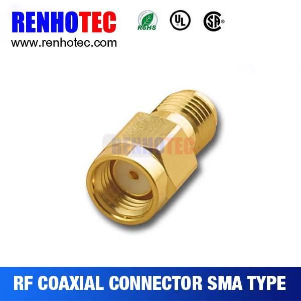 Best Price RP-SMA Plug to SMA Jack Adapter