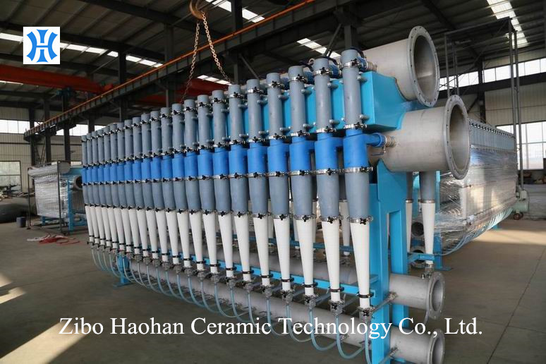 HiClean HCL5-500L with EcoMizer.Voith ECO Hydrocleaner. Voith Hicleaner. Pulp Cleaner.