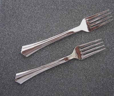 Sell Silver Plastic Cutlery