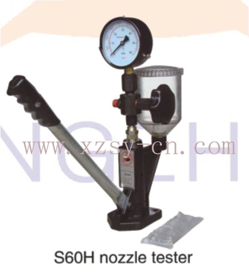 S60H injection nozzle tester