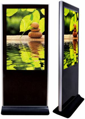 Hot sales 55inch touchscreen kiosk with WIFI,3G and LAN