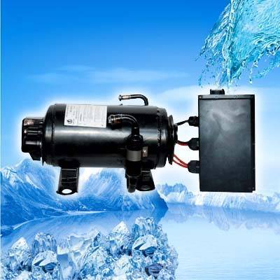 DC power compressor for electric-vehicle,heavy duty truck cab