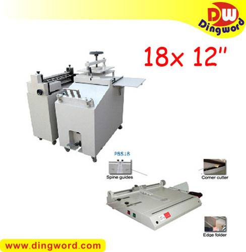 Economical 18 '' long-run photo book making machines package,album maker