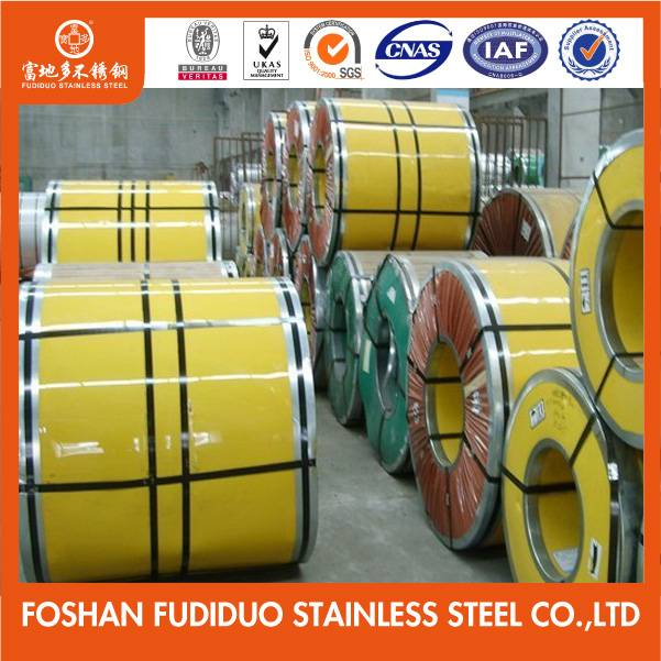 SUS 201 2B Cold Rolled Stainless Steel Coil