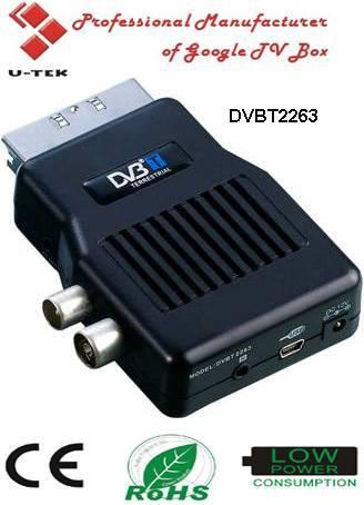 Mini Scart Mpeg2 DVB-T Receiver, Mpeg 2 DVB-T PVR,TV Tuner, DVBT2263