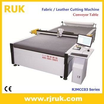 Lower price textiles & fabric cutting machines with CE