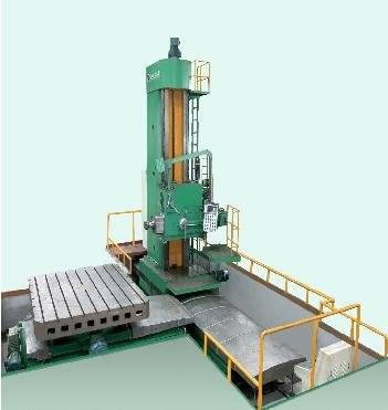 DRO floor type boring and milling machine