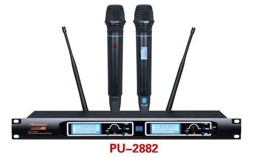 PU-2882 Uhf Frequency Modulation Pll Wireless Microphone