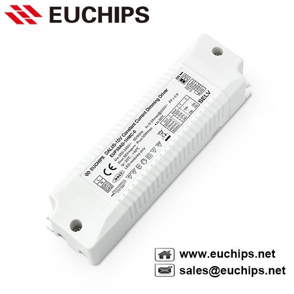 30W 600/700/800/900mA DALI/0-10V Constant Current LED Driver EUP30AD-1HMC-0
