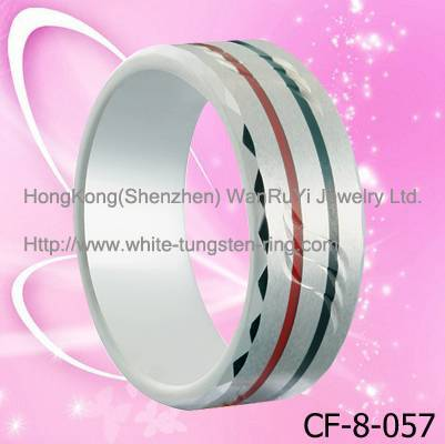 Inspirational Tungsten Band Jewelry Ring for Men Hot Sales