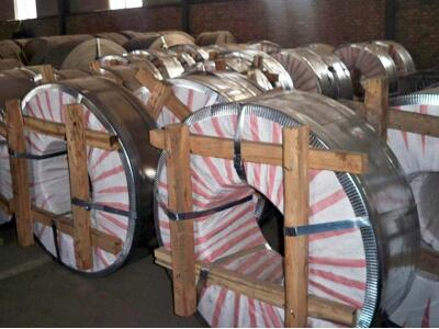 GL, Galvalume steel coils