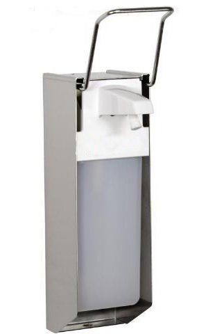 Primary Manual Elbow Operated Soap Dispenser For Euro Bottle 500ml And 1000ml