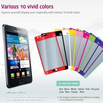 Mercury Color Mirror film for mobile phone