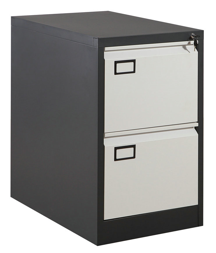 High Quality Office Furniture 2 Drawer Steel Filing Cabinet