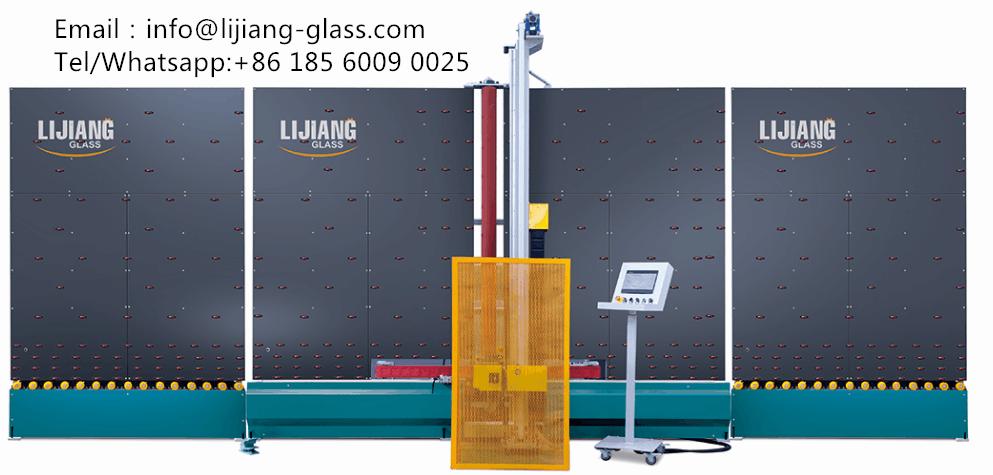 Automatic low-e glass edge deletion machine