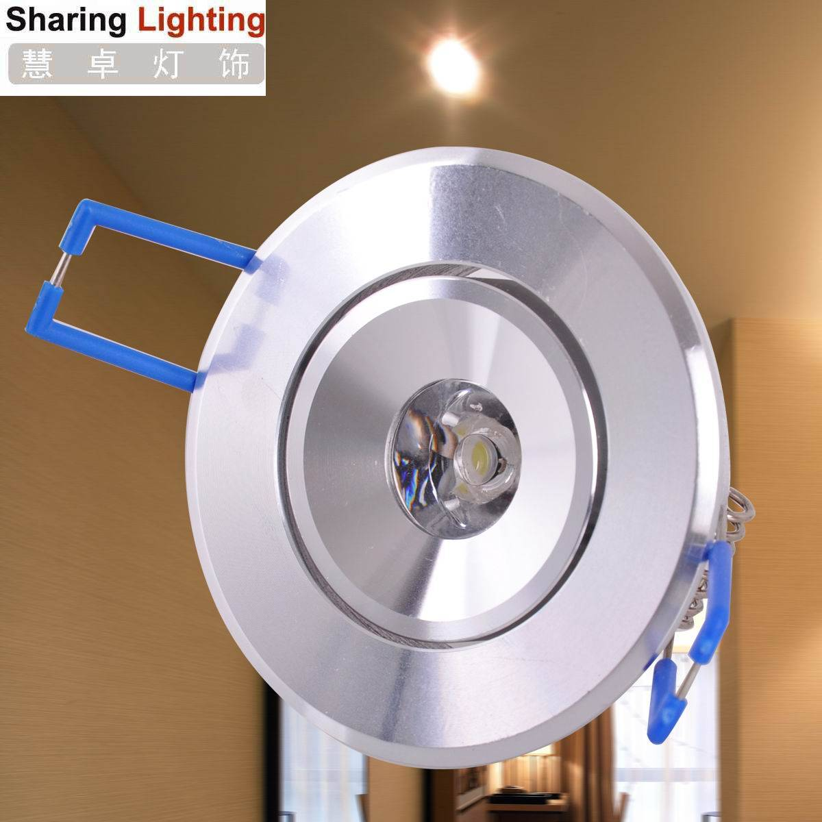 [Sharing Lighting]1W led down lamp,energy saving led lightings, led down light fixtures