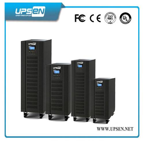 Programmable 15KVA 20Kva 3 / 1 Phase High Frequency Online UPS with SNMP / USB / RS-232 port