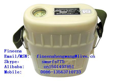 ZYX isolated compressed oxygen self-rescuer