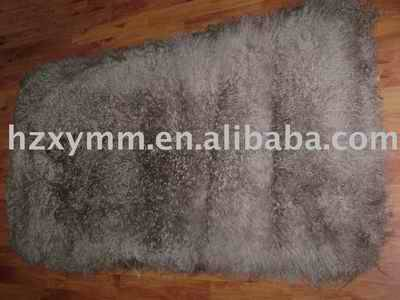 mongolian and tibet lamb fur product