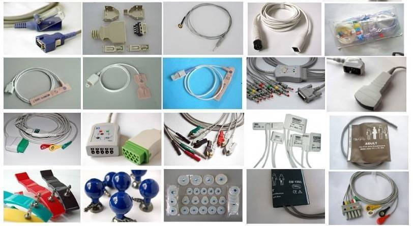 spo2 sensor ecg cable