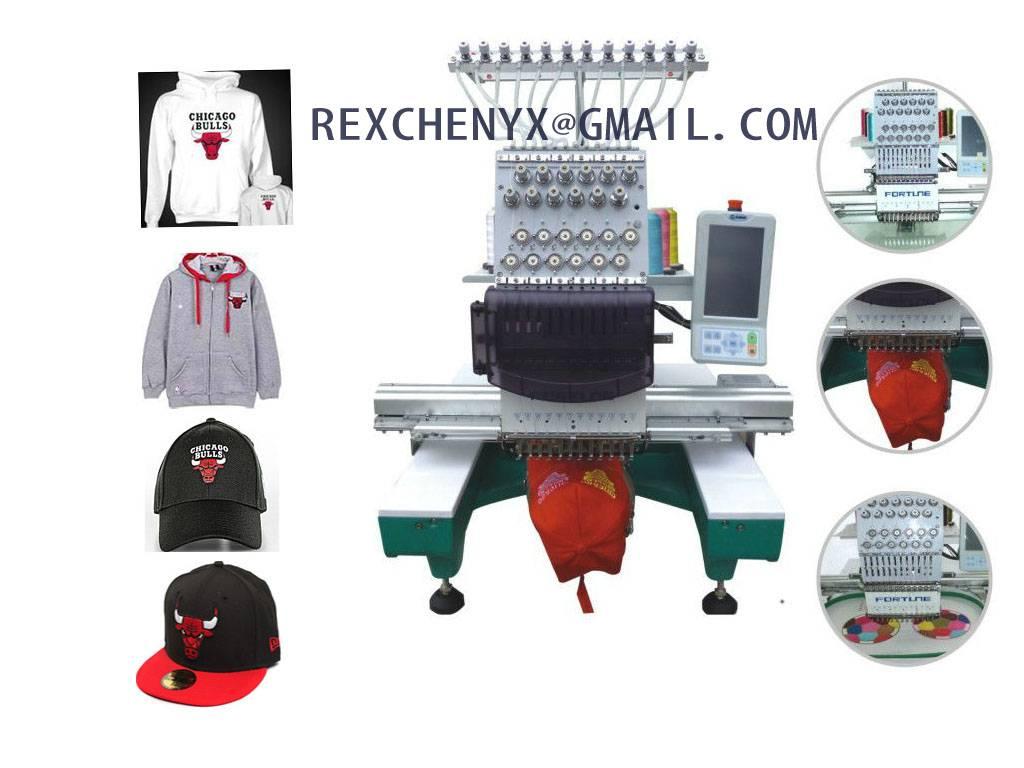 Single Head Cap Embroidery Machine