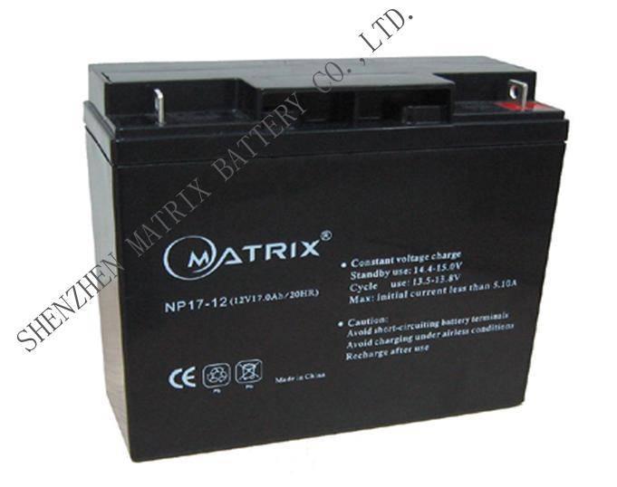 12V17Ah Lead-acid battery