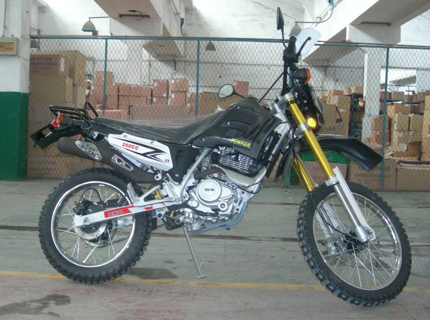 250cc reverted shocks dirt bike with disc brakes(EP250GY-2