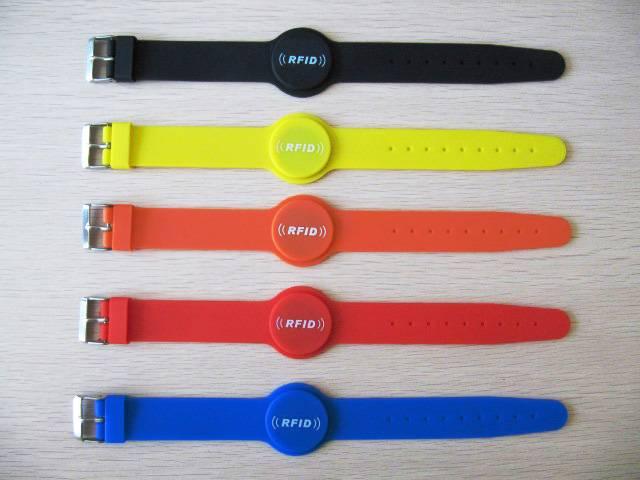 watch silicone RFID wristband with fashion design