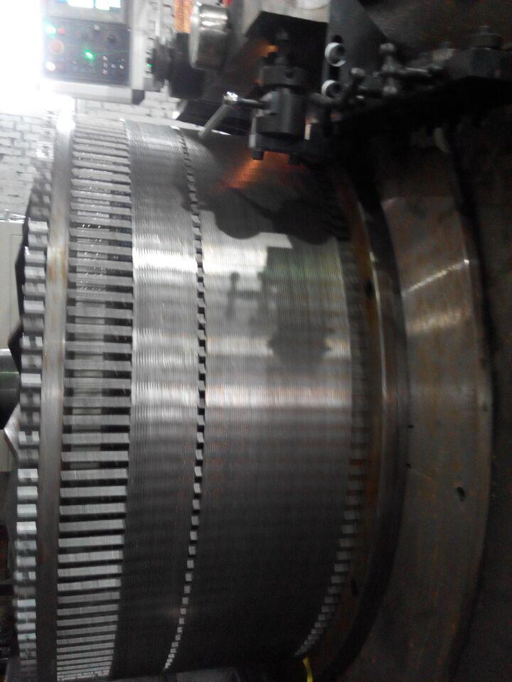 Hwj1000 Wedge Wire Screen Welding Machine For Waterwell Filtration